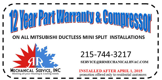 12 Year Part Warranty & Compressor