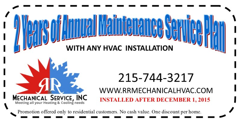 2Y Free Maintenance coupon